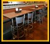 Custom Restaurant Bar and Table Tops