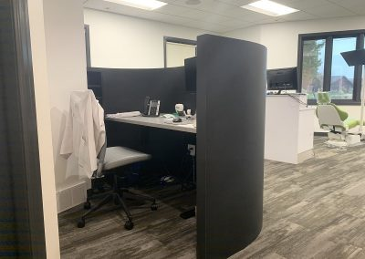 DR WORK AREA BACK VIEW