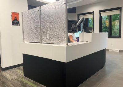 RECEPTION PRIVACY PANELS
